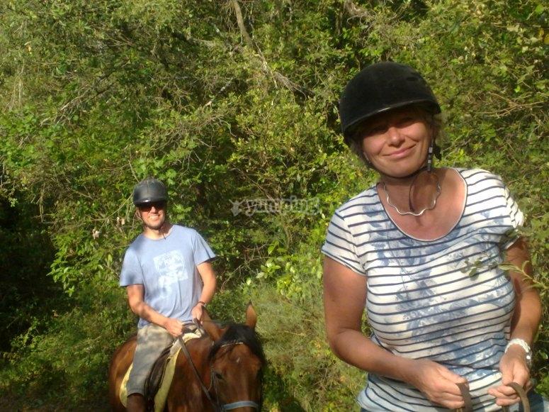 Ruta a caballo 1 hora