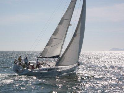 Prácticas PNB motor y vela + radio, costa de Vigo
