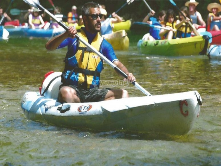 Kayak route