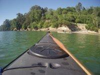Frontal del kayak