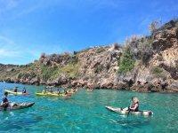 Excursión en kayaka en La Herradura
