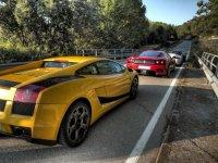 Amarillo y rojo