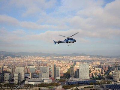 直升机在巴塞罗那,特别的父亲节