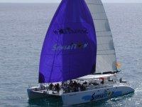 Navega en catamaran