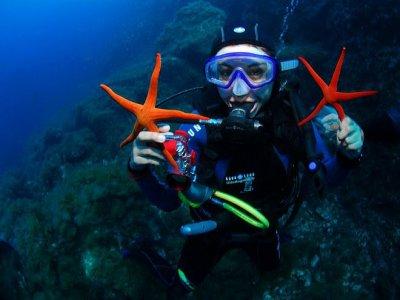 Bono 10 inmersiones + botella + plomos en Ibiza