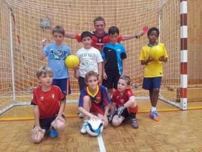Campamento urbano inglés y fútbol Pamplona S.Santa