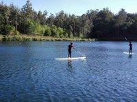 Paddle en aguas sin corrientes