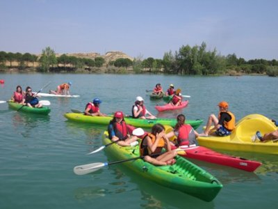 Multiadventure for schools in Zahara de la Sierra