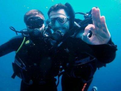 探索潜水水肺,兰萨罗特岛