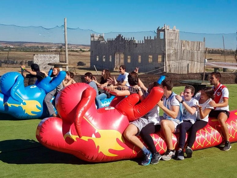 Inflatables´ race