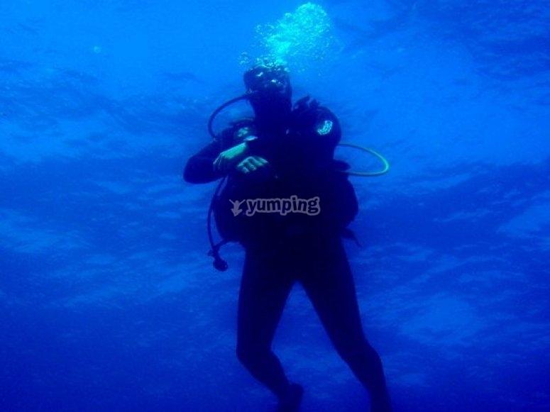 Inmersión en Fuerteventura