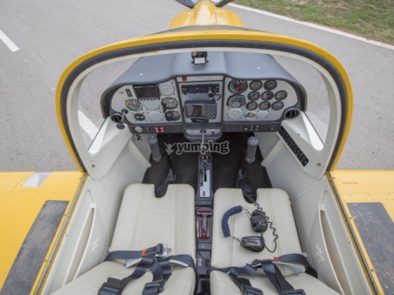 tecnam sust bucker cockpit