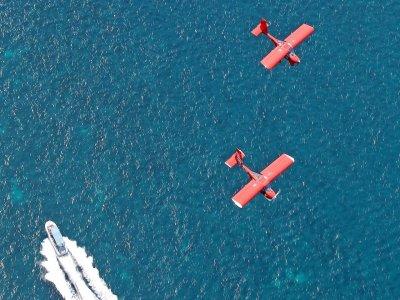 Light aircraft flight Toorevieja's coast, 1 hour