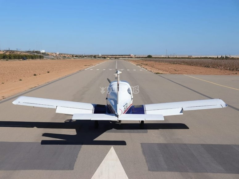 Flight experience in a light aircraft in Torrevieja