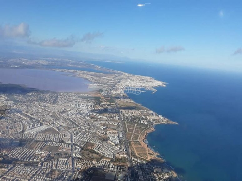 Torrevieja from a bird's-eye view