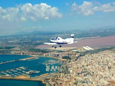 Pilot for a day of light aircraft Torrevieja coast