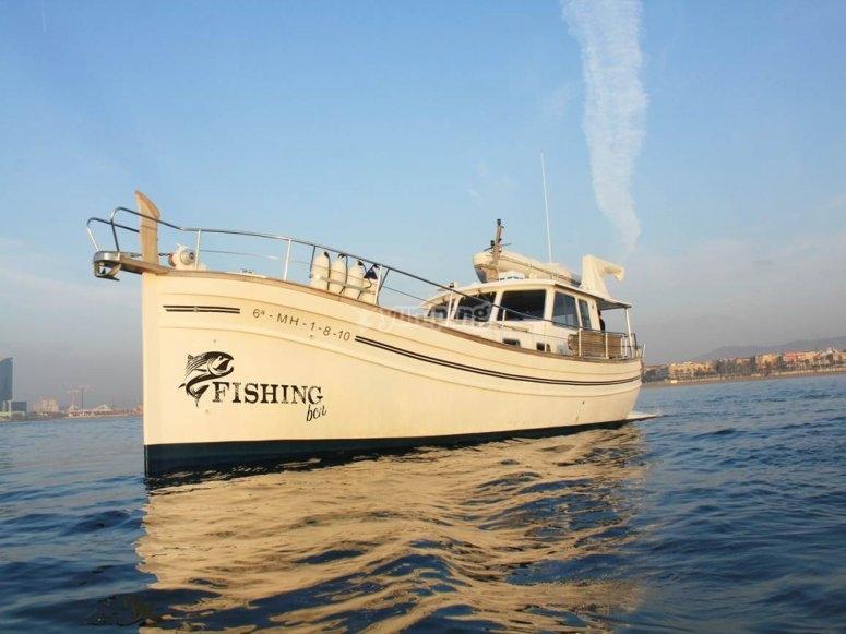 Pesca desde barco