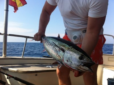 Tuna fishing departure in Barcelona, 7 hours