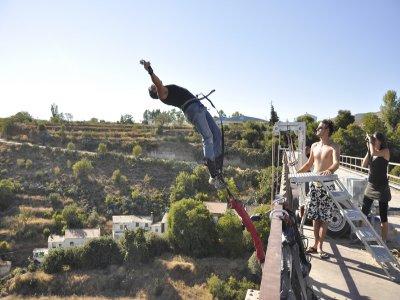 Salto de bungee jumping, 50 metros, Durcal