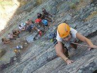 Escalada deportiva en Sierra de Béjar Semana Santa