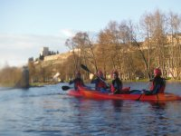 Canoeing and guided visit