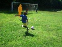Imitando a Messi
