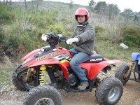 Excursion en quad por el Garraf