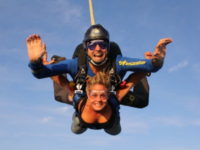 Salto tándem en paracaídas en Braga, Portugal