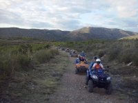Buggies and quad bikes in Barcelona