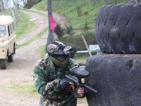 Soldato contro le gomme
