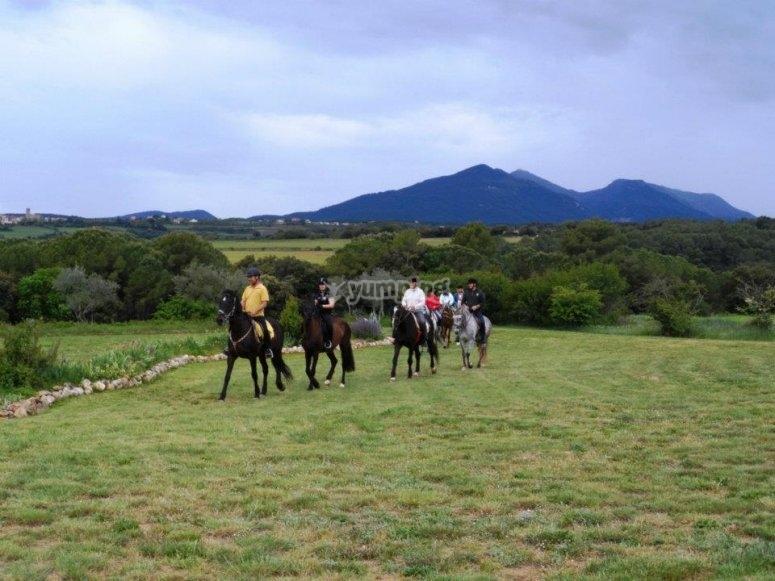 Excursion a caballo en Serinya