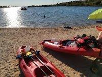 Canoe con batteria per oggetti personali