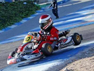 Carrera karting en Circuito Grand Prix y barbacoa