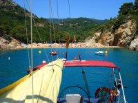 Fin de semana en velero Barcelona-Costa Brava