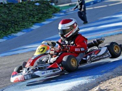Carrera de karting en Circuito Finestrat 10 min