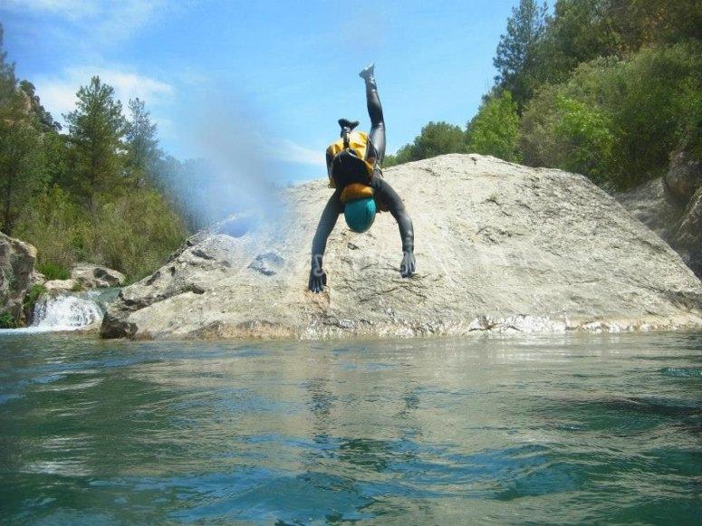 Pura adrenalina en el río