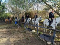 Riding in Guadarrama