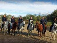 Riders in the Park of Guadarrama