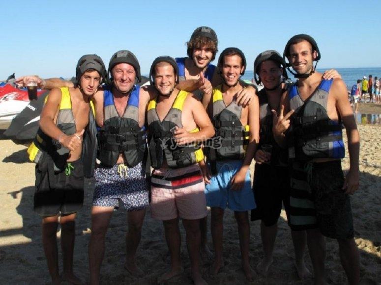 Grupo de banana boat