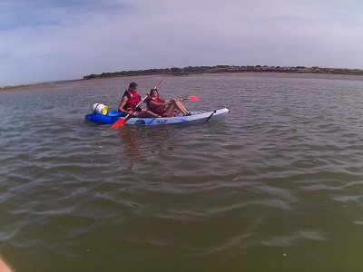Alquiler kayak individual playa de Islantilla 1 h