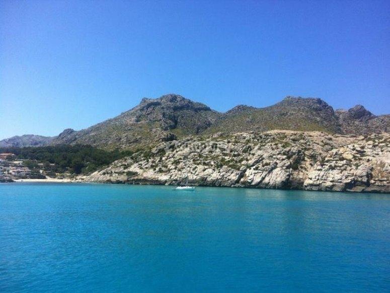 Catamaran en Mallorca