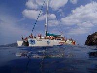 Excursion en catamaran a vela