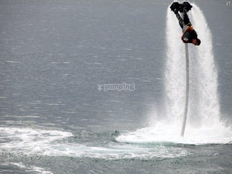 Flyboard en Getxo 3