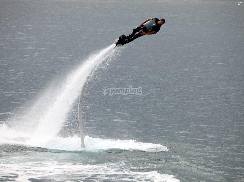 Flyboard en Getxo 2