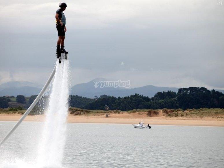 Flyboard en Santander 1