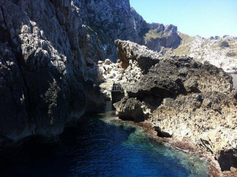 Ruta a la playa de Formentor