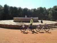 monumentos en bici