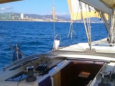 Alquiler velero 8 horas desde Barcelona