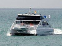 Catamaran en costa de Alcudia