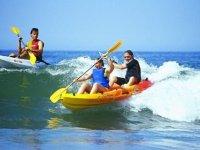 皮划艇双座出租1小时,Islantilla海滩